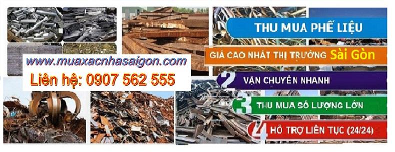 Mua phế liệu tại Sài Gòn