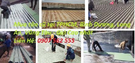 ĐƠN VỊ MUA TÔN CŨ Ở TẠI TPHCM - 0907562555
