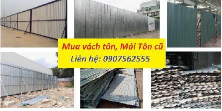 Cơ sở là đơn vị thu mua tấm tôn, vách tôn bao che xây dựng cũ tại tphcm, Bình Dương, Long An, Vũng Tàu