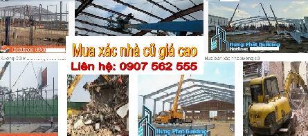 Đơn vị mua xác nhà cũ tphcm - Call: 0907562555