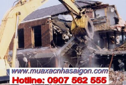 Dịch vụ đập phá, tháo dỡ nhà cũ tại quận Bình Tân tphcm