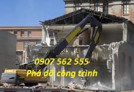 Dịch vụ đập phá, tháo dỡ nhà cũ tại quận 3, Tp HCM