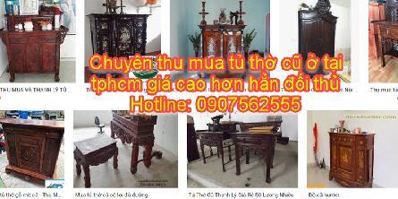 Thu mua tủ thờ cũ TPHCM- 0907562555