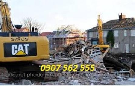 Dịch vụ đập phá tháo dỡ nhà cũ tại quận 5 tphcm, Sài Gòn
