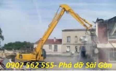 DỊCH VỤ ĐẬP PHÁ THÁO DỠ CÔNG TRÌNH NHÀ CŨ TẠI TPHCM - 0907562555