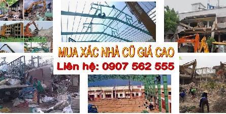 Công ty phá dỡ nhà cũ tốt và uy tín nhất tại tphcm - 0907562555