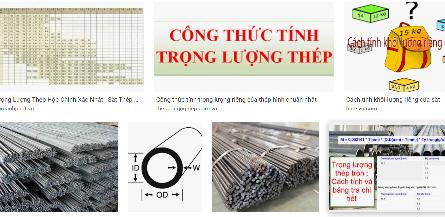Cách tính trọng lượng sắt tôn H-U-I-C-Z-V. Cách tính cân nặng sắt H-U-I-C-Z-V