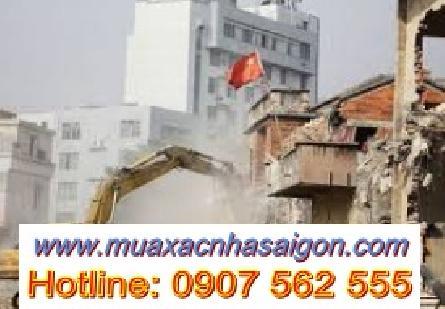 Dịch vụ đập phá, tháo dỡ nhà cũ tại quận Tân Bình - TpHCM