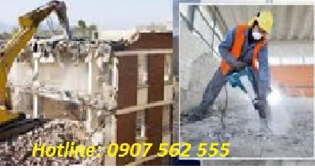 Dịch vụ đập phá, tháo dỡ nhà cũ tại huyện Bình Chánh-TpHCM