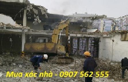 Đơn vị chuyên thu mua xác nhà cũ tại quận Tân Bình - tphcm
