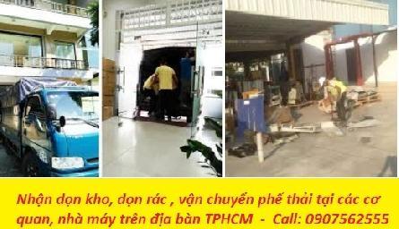 DỊCH VỤ DỌN KHO Ở TẠI TPHCM - 0907562555