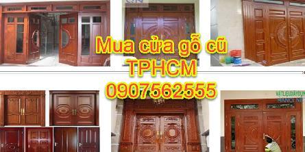 Cửa hàng thu Mua Cửa Gỗ Cũ Tại Tphcm Giá Cao