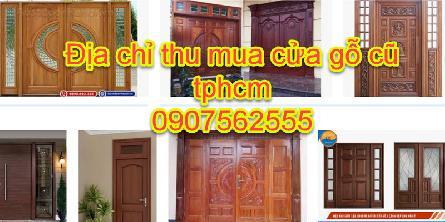 Địa chỉ thu mua cửa gỗ cũ tại Tphcm