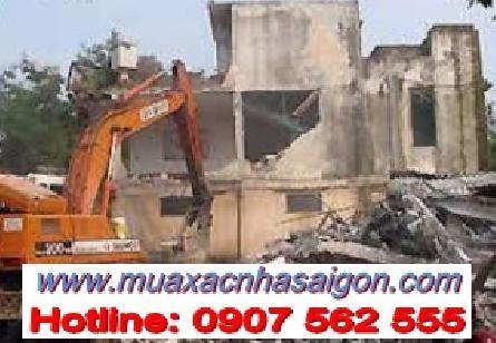 Dịch vụ tháo dỡ, đập phá nhà cũ tại quận 11 tphcm
