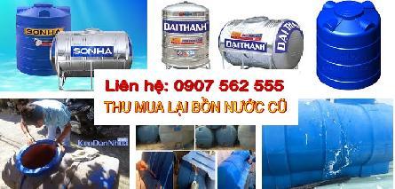 Cửa hàng chuyên mua lại bồn nước cũ đã qua sử dụng tại TPHCM