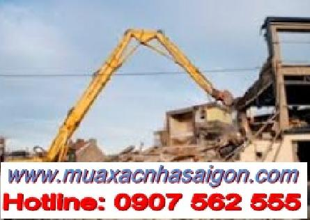 Dịch vụ đập phá, tháo dỡ nhà cũ tại quận 12 tphcm