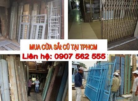 THU MUA CỬA SẮT CŨ TẠI TPHCM GIÁ CAO - 0907562555