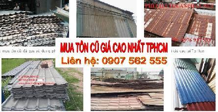 Đơn vị chuyên thu mua mái tôn nhà xưởng cũ tphcm - 0907562555