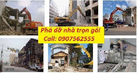 Đơn vị cung cấp dịch vụ thi công tháo dỡ nhà trọn gói tại tphcm