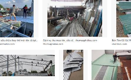 Địa chỉ mua bán sắt tôn cũ giá rẻ ở TP HCM, Bình Dương, Đồng Nai