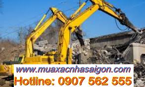 Dịch vụ đập phá, tháo dỡ nhà cũ tại quận Gò Vấp TpHCM