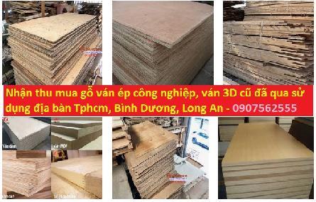 Nhận thu mua tấm ván ép bằng gỗ công nghiệp ván 3d cũ đã qua sử dụng ở tphcm - 0907562555