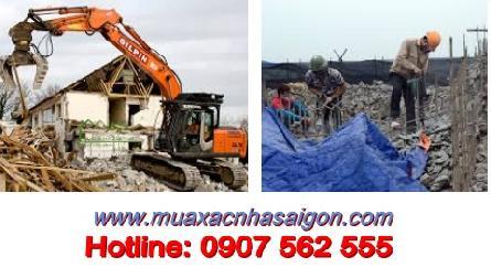 Địa chỉ dịch vụ Phá dỡ nhà, phá dỡ công trình ở tại TpHCM và khu vực lân cận