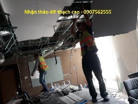 Dịch vụ Tháo dỡ vận chuyển vách trần thạch cao, vách ngăn chuyên nghiệp tphcm
