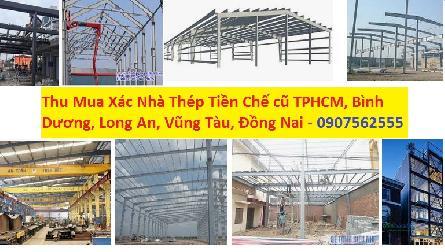 Công ty nhận thu mua xác nhà thép tiền chế cũ - 0907562555