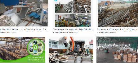 Thu mua nhà xưởng máy móc, thiết bị cũ phế liệu ở Bình Dương, Đồng Nai, Tphcm