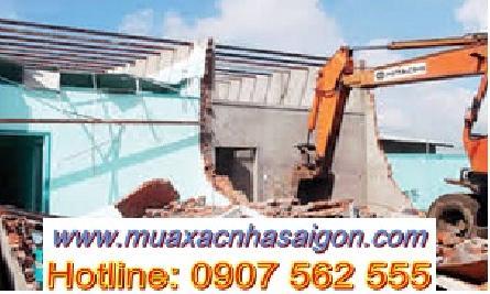 Dịch vụ đập phá, tháo dỡ nhà cũ tại huyện Hóc Môn tphcm