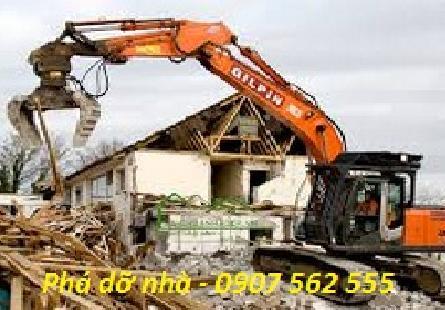 Dịch vụ đập phá, tháo dỡ nhà cũ tại quận 6 tphcm