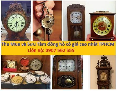 Cửa hàng chuyên thu mua lại đồng hồ cũ cổ giá cao nhất tphcm