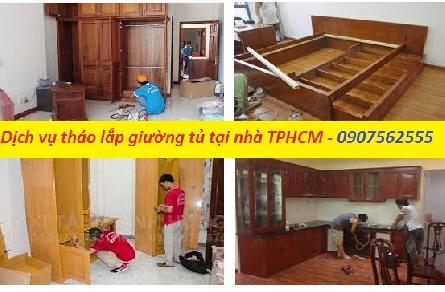 DỊCH VỤ THÁO LẮP GIƯỜNG TỦ NỘI THẤT Ở TPHCM - 0907562555