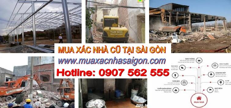 Cần bán xác nhà cũ tại Tphcm
