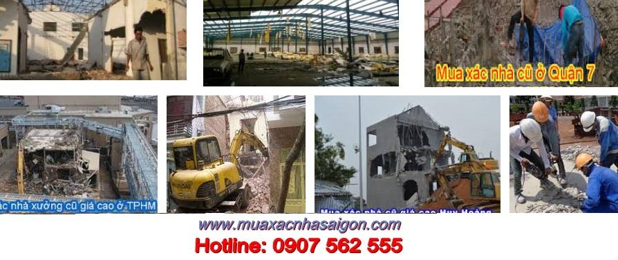 Công ty phá dỡ nhà tại quận 7-tphcm