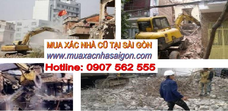 Công ty mua xác nhà cũ tại Tphcm
