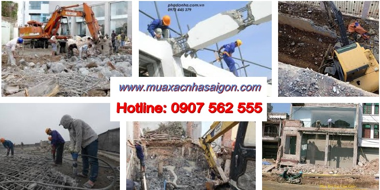 Công ty tháo dỡ công trình tại quận 4 tphcm