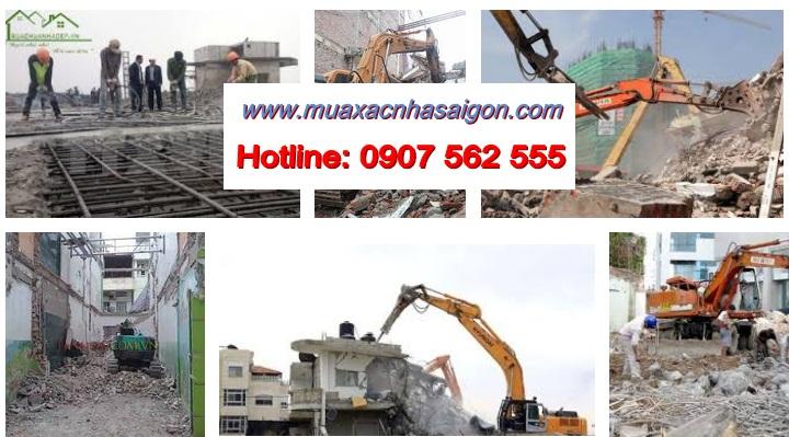 Công ty đập phá tháo dỡ công trình tại quận 5 tphcm