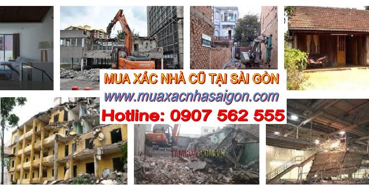 Mua xác nhà cũ tại Sài Gòn